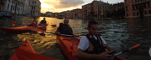 Kayaking in Venice | Private Tours